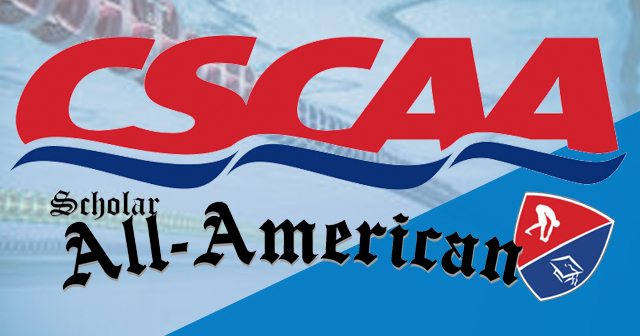 CSCAA Scholar All-American Teams