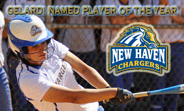 New Haven's Gelardi Selected as Northeast-10 Conference Softball Player of the Year