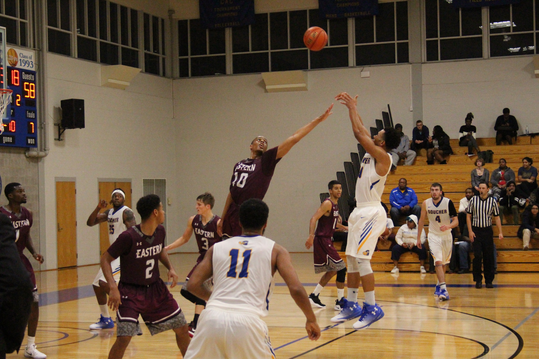 Goucher Falls in Home Opener 70-53 to Eastern University