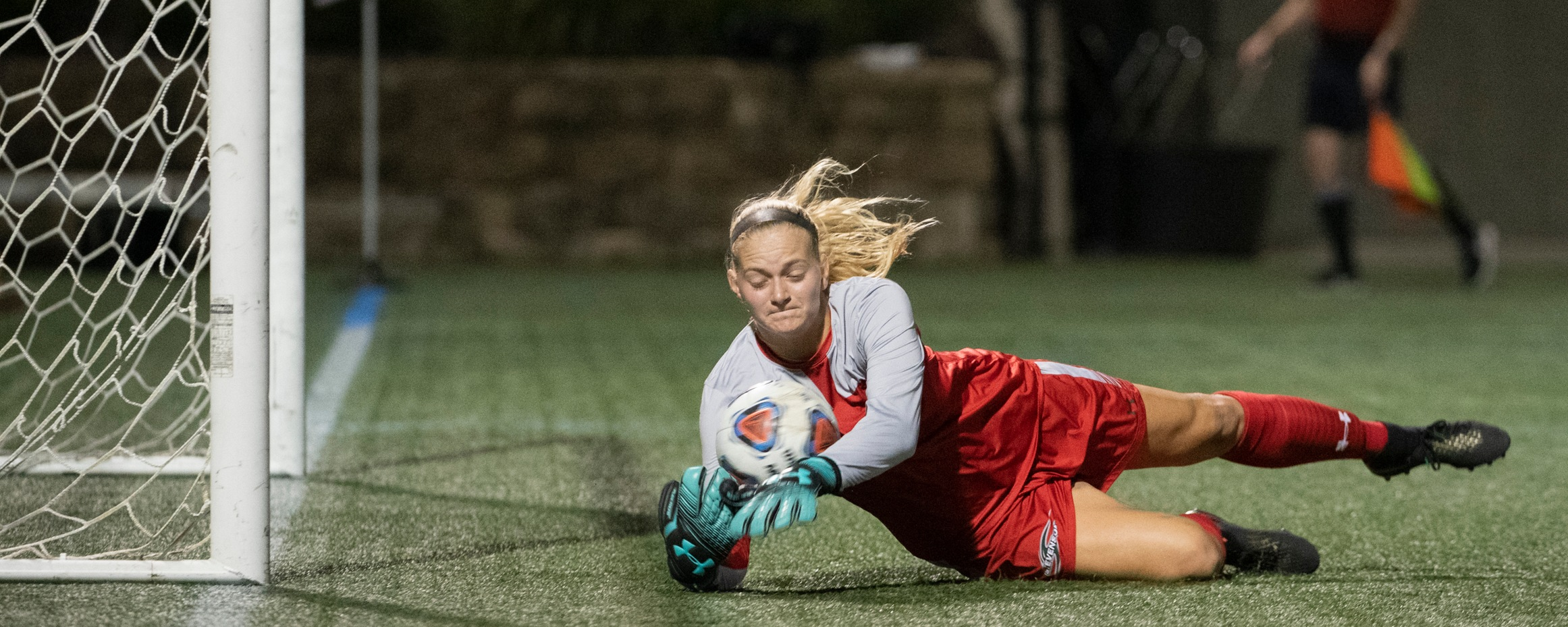 Caffrey Finishes with 10 Saves, Mustangs Fall at DeSales