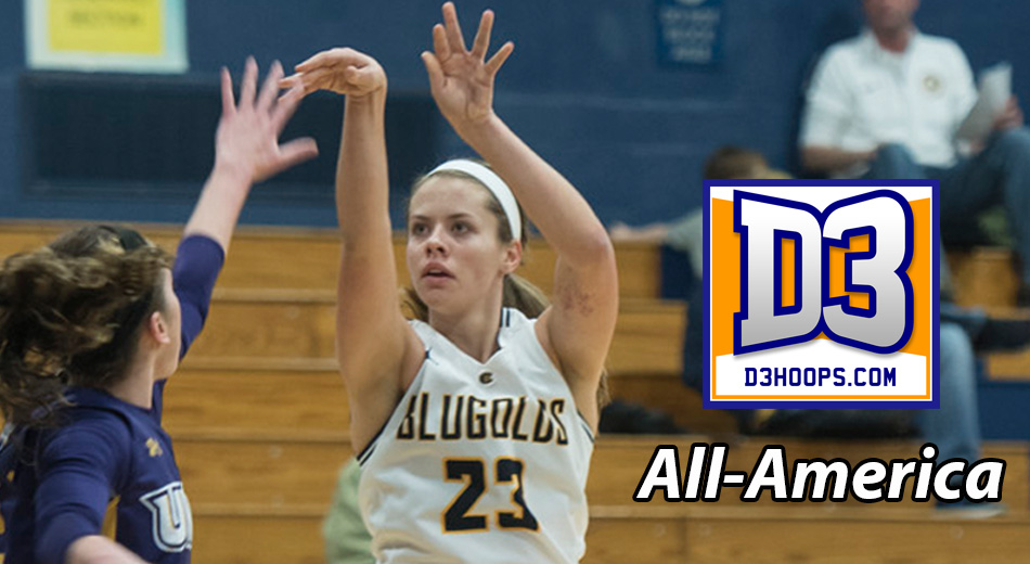 Hoeppner named to D3hoops.com All-America team