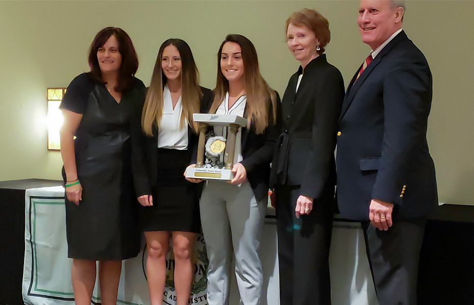 Oswego Athletics Earns National First Place Community Service Award