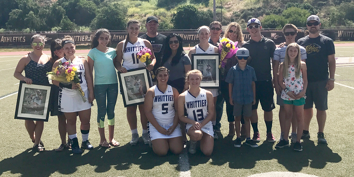 Poets send off Seniors with 15-13 win over Chapman