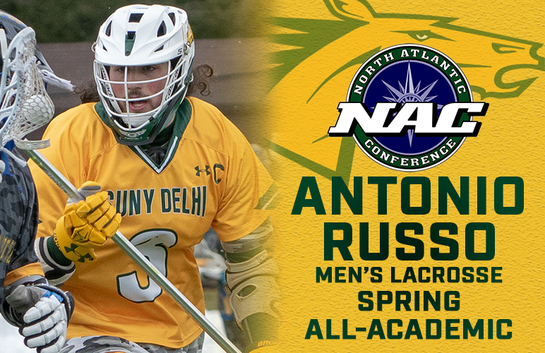 Antonio Russo Takes High Honors to NAC Spring All-Academic Team