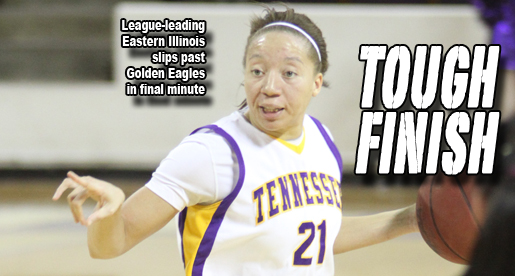 Golden Eagles edged by one in final minute by league-leading Panthers