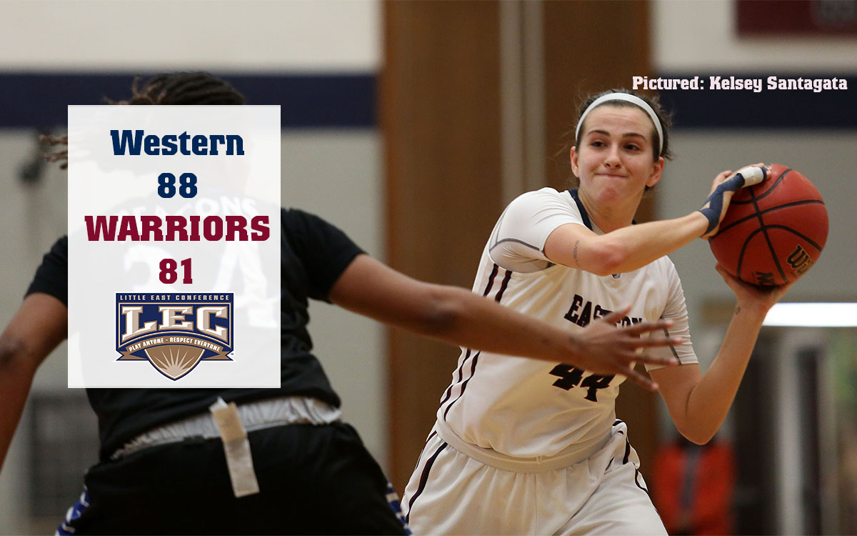 Women's Basketball: Already Assured of LEC Home Game, Warriors Falter on Road