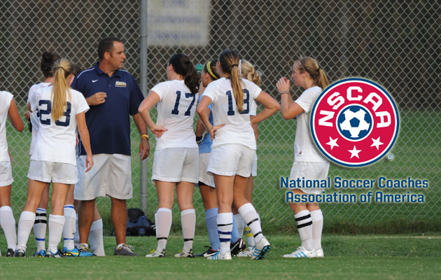 Coker Women Earn NSCAA Team Academic Award
