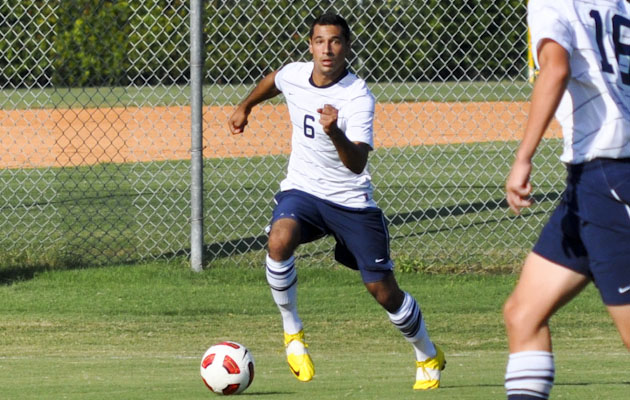Taylor Lifts Coker to 2-1 Overtime Win