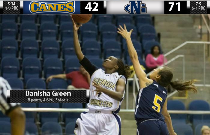 First Half Run Buries GSW, Lady 'Canes Fall 71-42