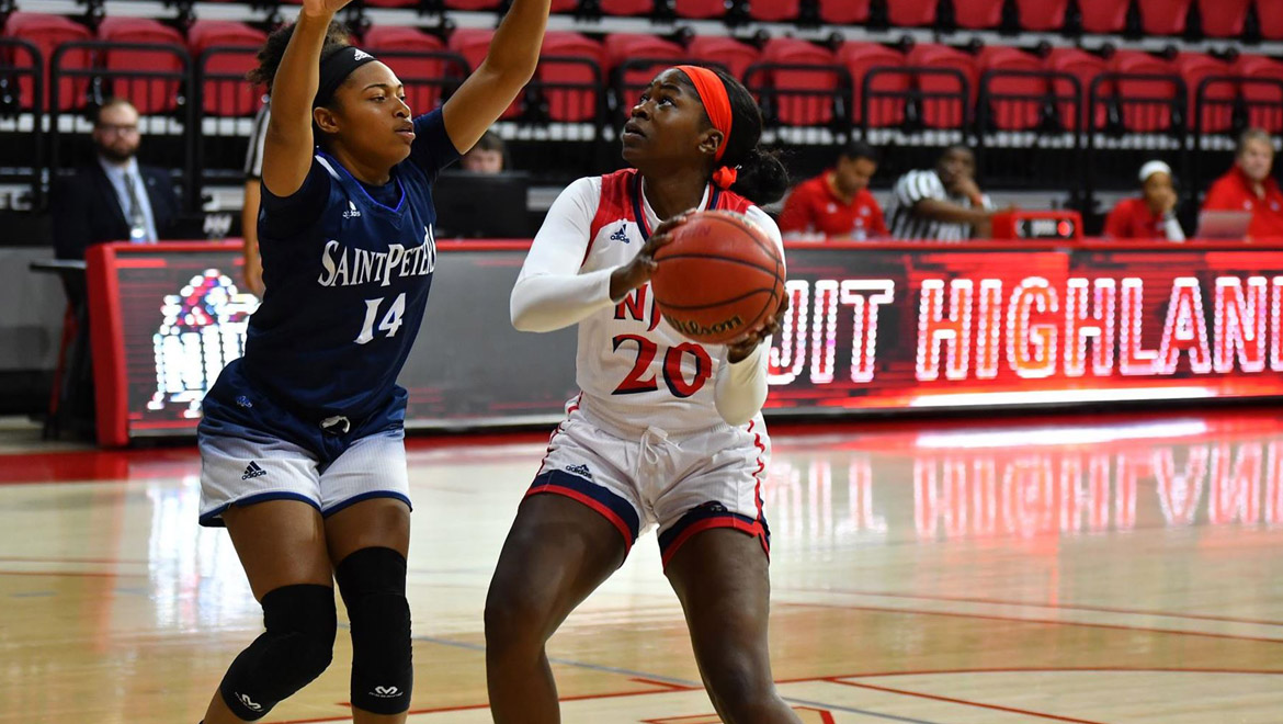 NJIT Extends Win Streak to Three; Tunstall and Bajic Post Double-Doubles