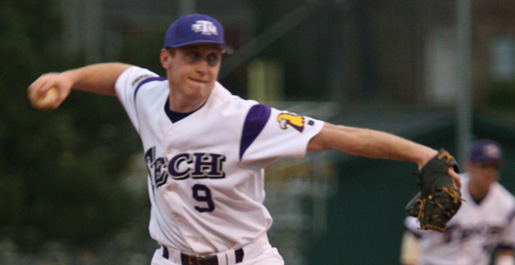 Seventh inning rally leads Tech to 10-8 victory