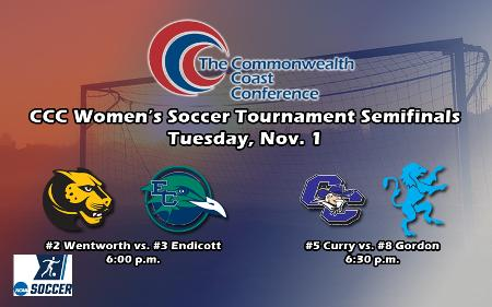 Gordon and Curry Pull Upsets to Advance to CCC Women's Soccer Semifinals