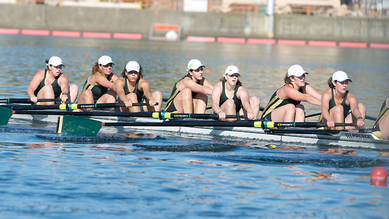 ROWING WINS ALL THREE RACES AGAINST UC DAVIS