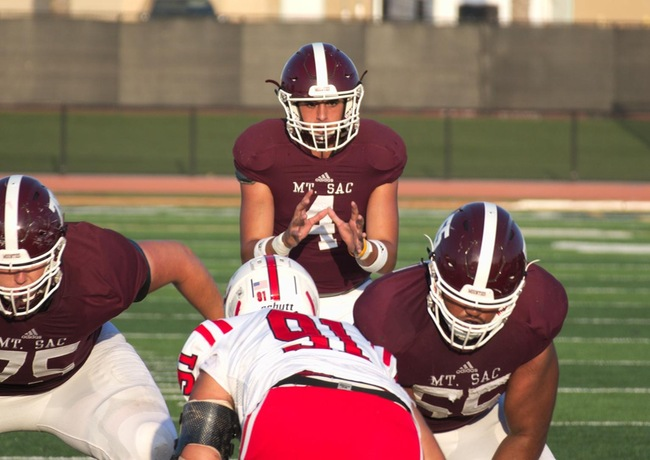 Mt Sac Football Scores Big Victory Over Bakersfield College 45 24