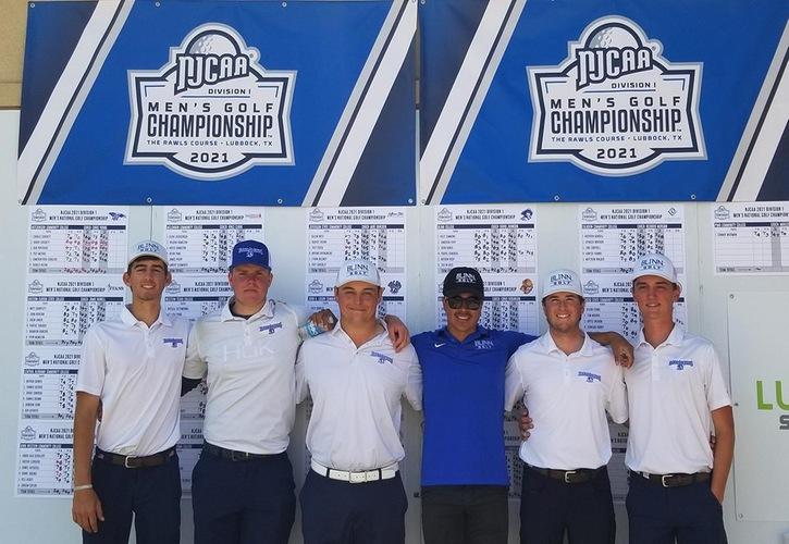 No. 16 Blinn Men's Golf Ties For 19th At Nationals