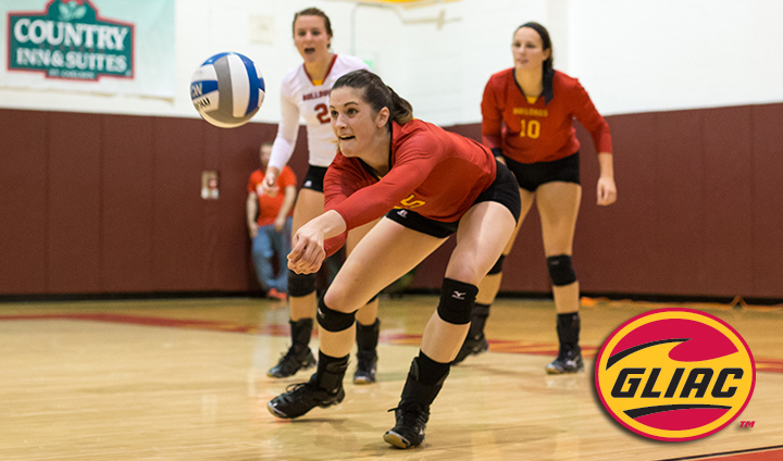 Ferris State's Courtney Rehm Tabbed As GLIAC North Volleyball Player Of The Week
