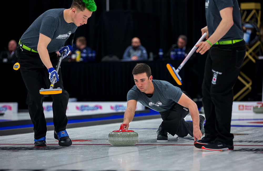 Semi-Final Results from the 2018 CCAA/Curling Canada Championships