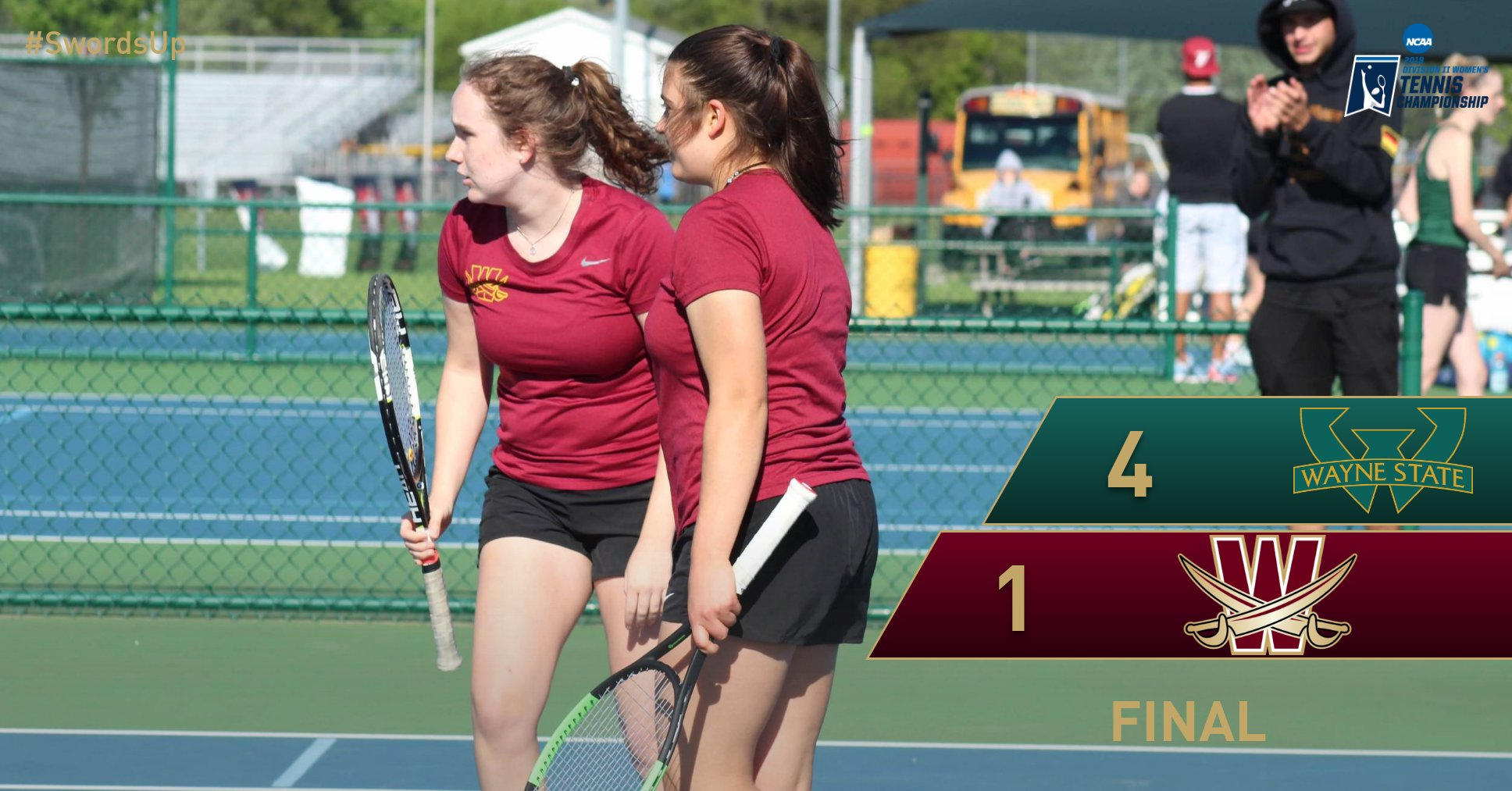 Women's Tennis Drops NCAA Regional Match at Wayne State