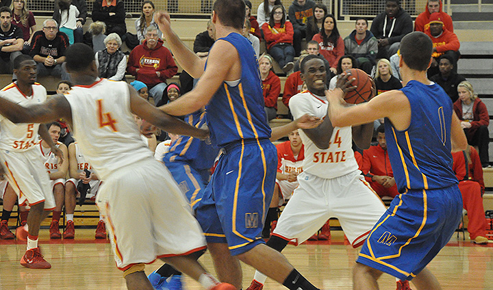 Ferris State Men's Basketball Wins Shootout Over Madonna In Exhibition Debut