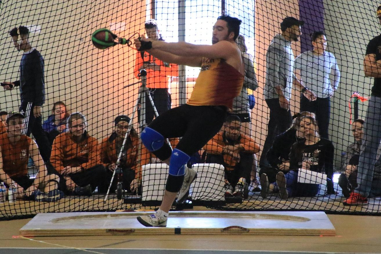 Myers Sets Record In Weight Throw At Mount Union