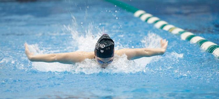 Women's Swimming in Fourth After Day Two