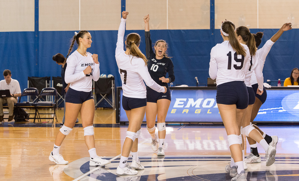 Emory Volleyball Faces Busy Stretch