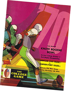 Knute Rockne Bowl program