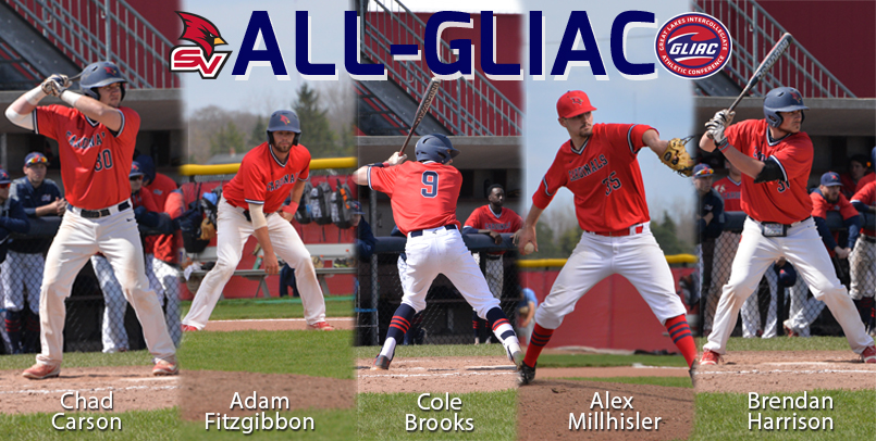 Five Cardinals earn All-GLIAC accolades