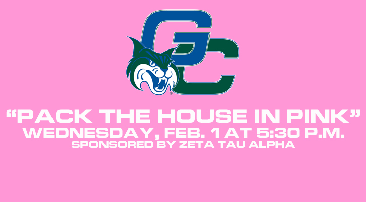 "Georgia College Ready to ""Pack the House in Pink"" Wednesday"