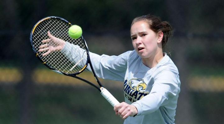 Men's and women's tennis complete sweep of Lancaster Bible by 9-0 scores