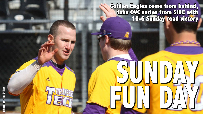 Golden Eagles come from behind to take series from SIUE, win 10-6