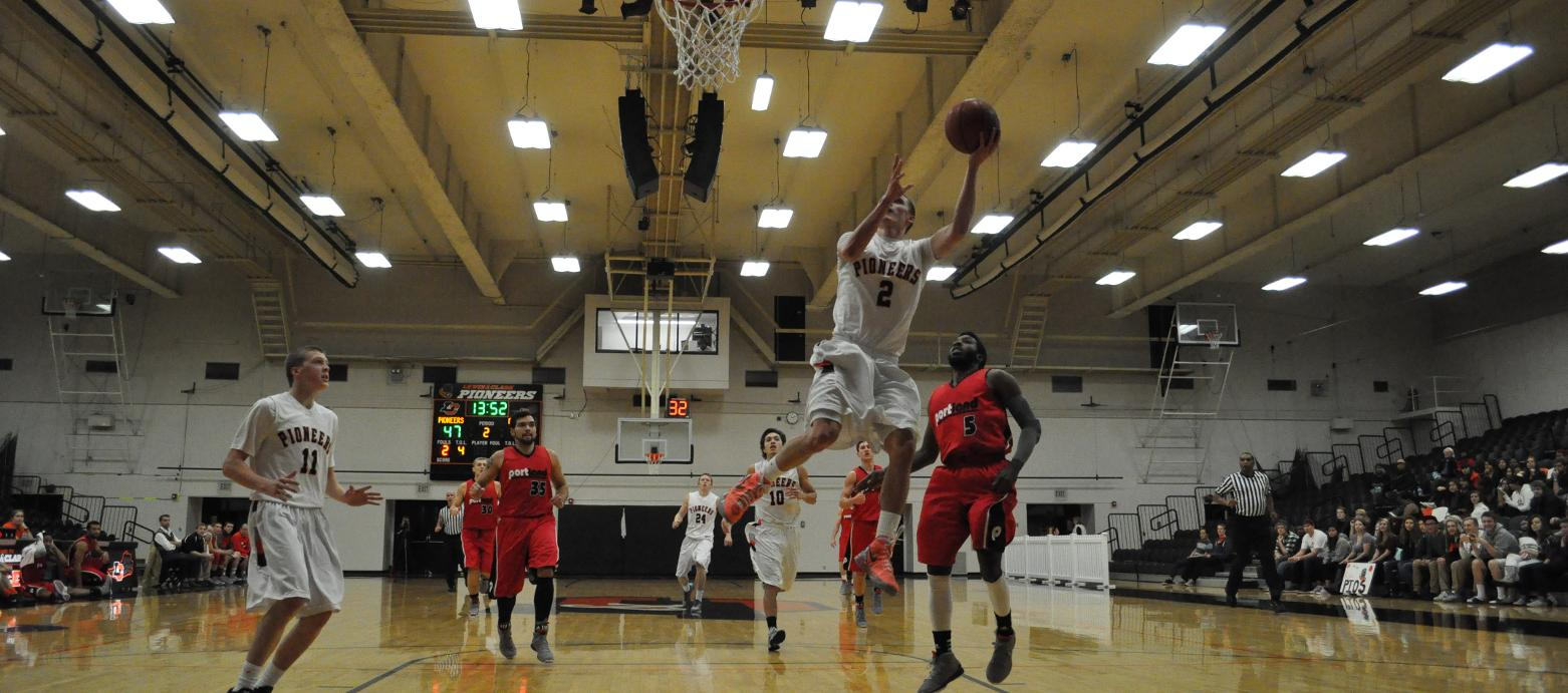 Men's Basketball Opens Season With Thrilling Victory Over Portland Bible