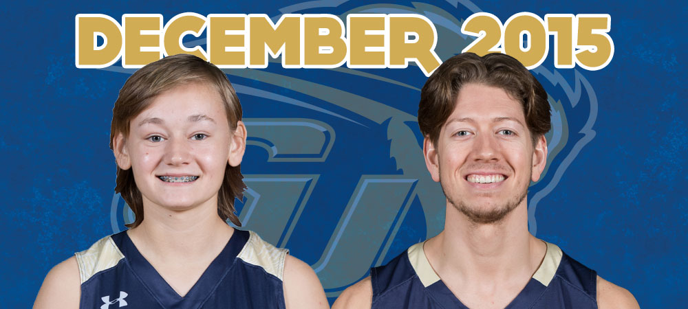 Shysh and Gordon named December Bison of the Month presented by GIS