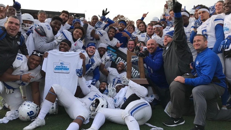Blue Devils Win Fifth NEC Title, Advance to NCAA Playoffs
