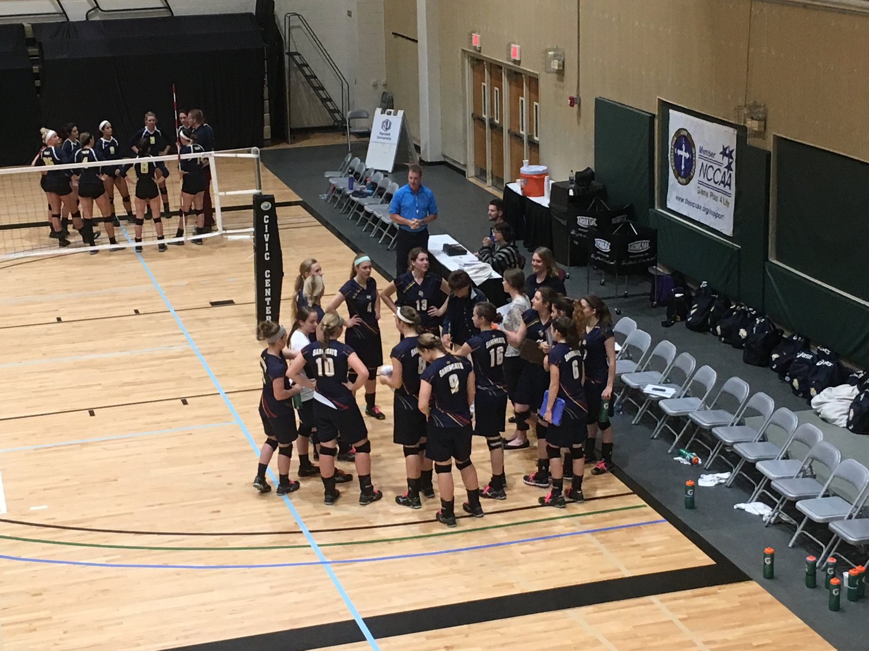 Sabercats Sweep Group, Roll to National Semifinal