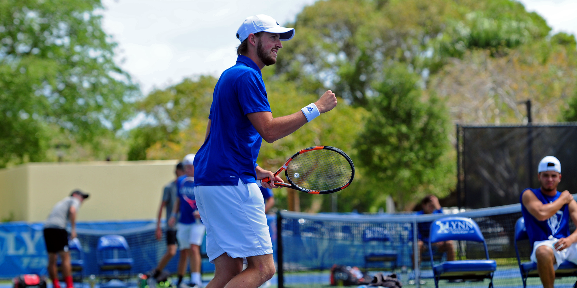 No. 3 Men's Tennis Opens 2019 with Convincing Victory