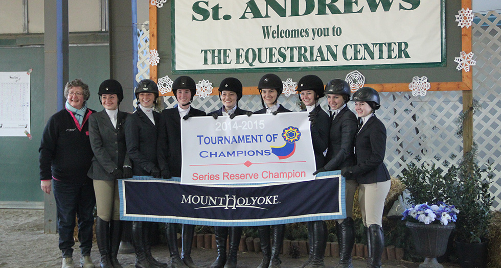 Riding Earns Reserve Champion at Tournament Of Champions
