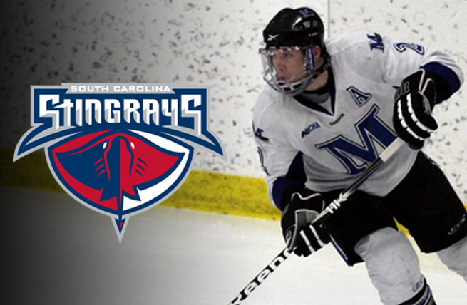 Former Standout, Fitzpatrick, Signs with ECHL's Stingrays