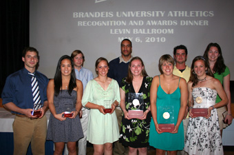 Brandeis announces 2010 Departmental Award winners