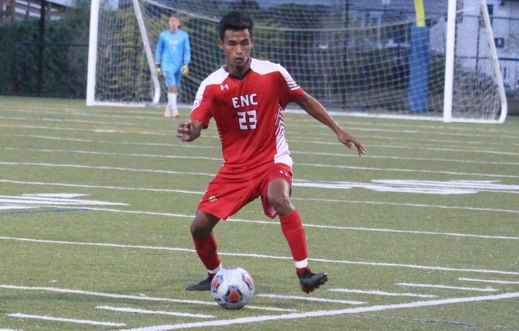 Men's Soccer Edged 2-1 at Fitchburg State