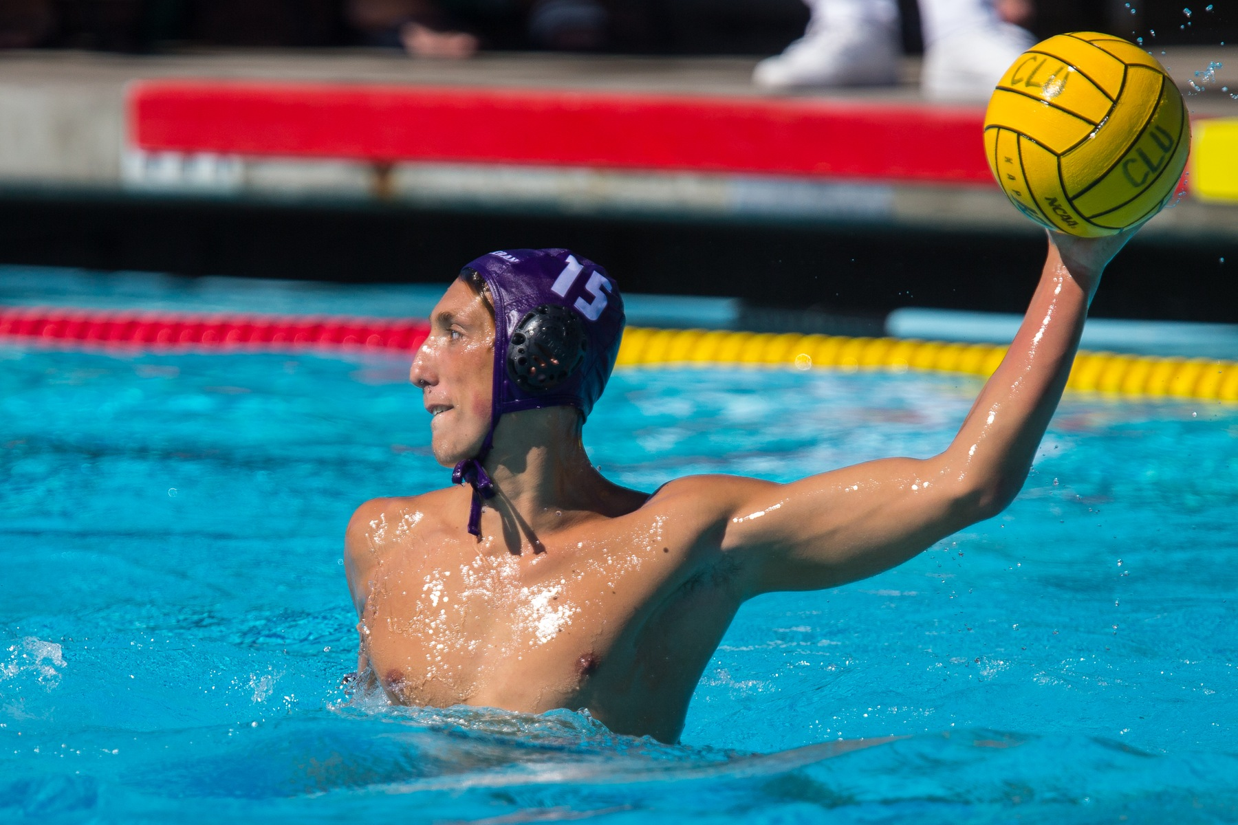 Ben Brown scores a career-high four goals against Caltech. (Credit: Dave Donovan)
