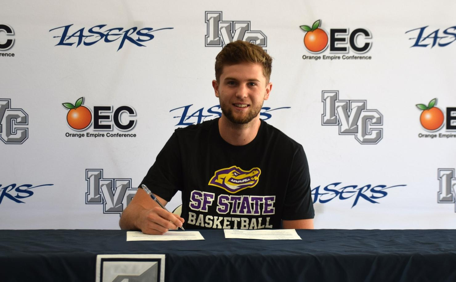 Basketball player Zane Paddon signs with San Francisco State