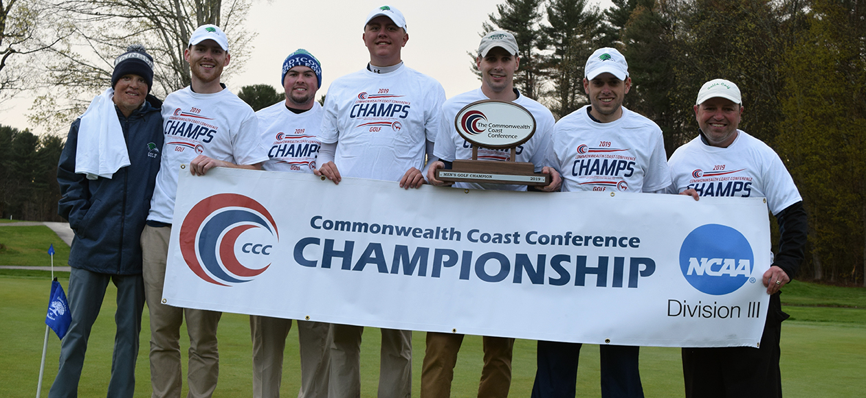 Resilient Gulls Come Back To Win CCC Men's Golf Championship