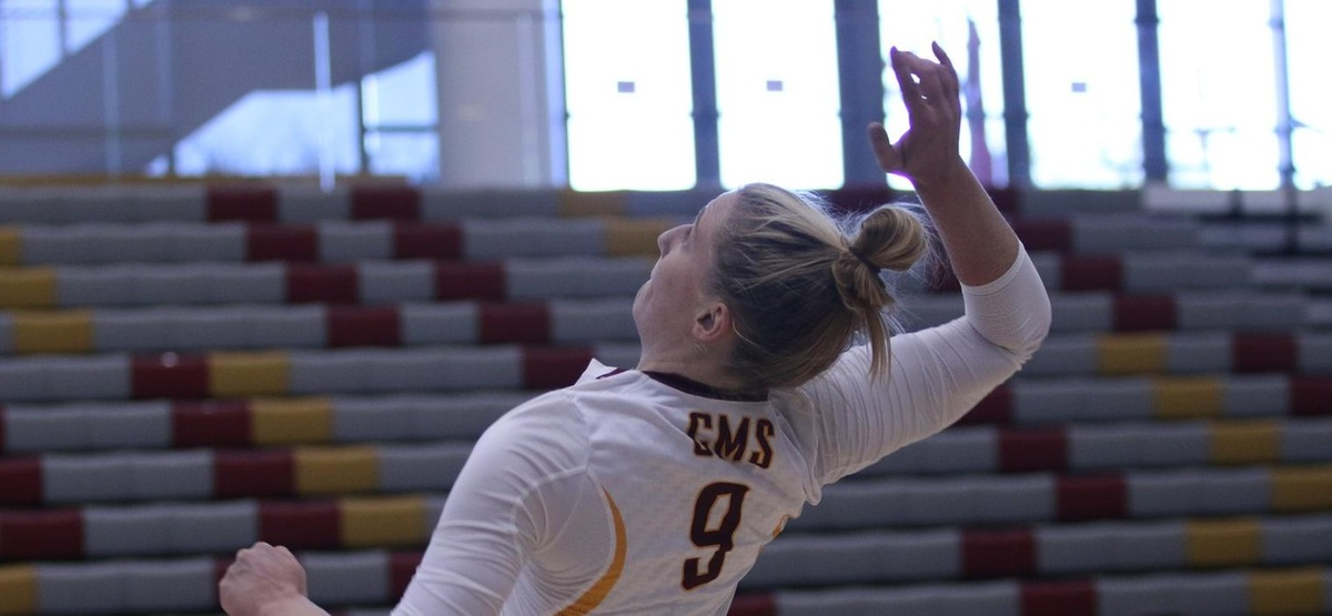 CMS Volleyball Earns 20th Win of Season, Sweeps Caltech in Three