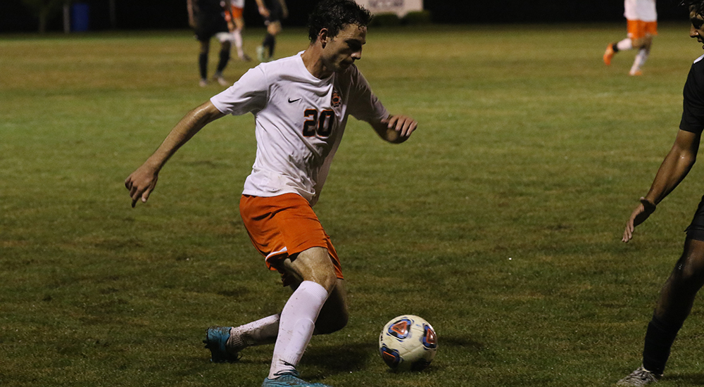 Men's soccer gains overtime win at Coe