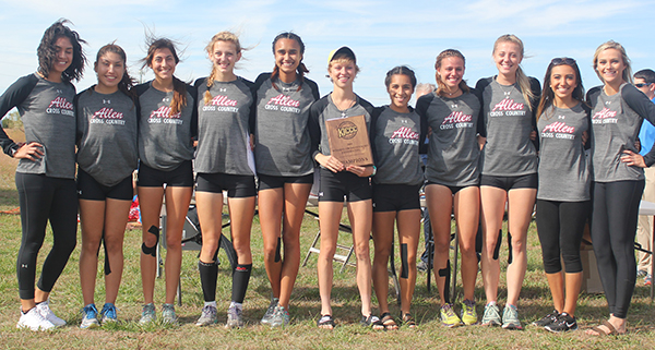 Allen wins conference title for second year in a row