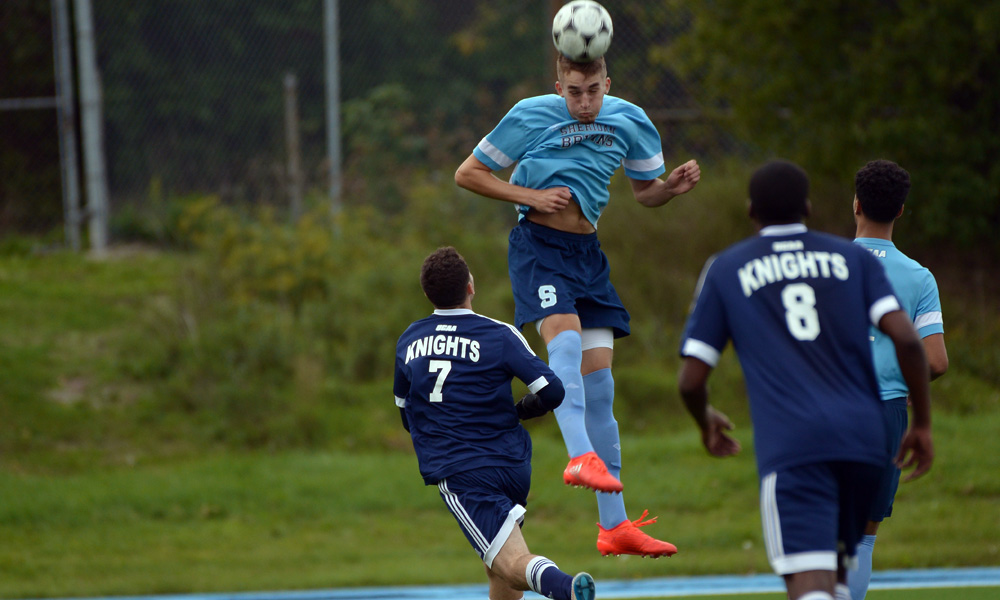 Men's soccer play to draw against Niagara