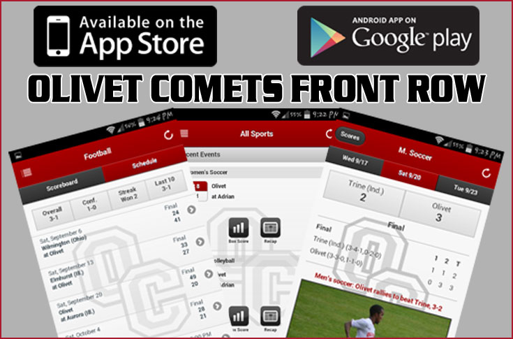 Olivet Comets Front Row App Now Available!