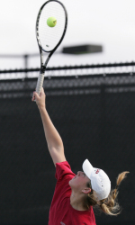 Four Broncos Named as Honorable Mentions on All-WCC Tennis Team