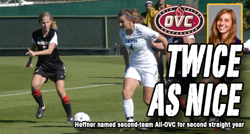 Heffner named second-team All-OVC for second-straight season